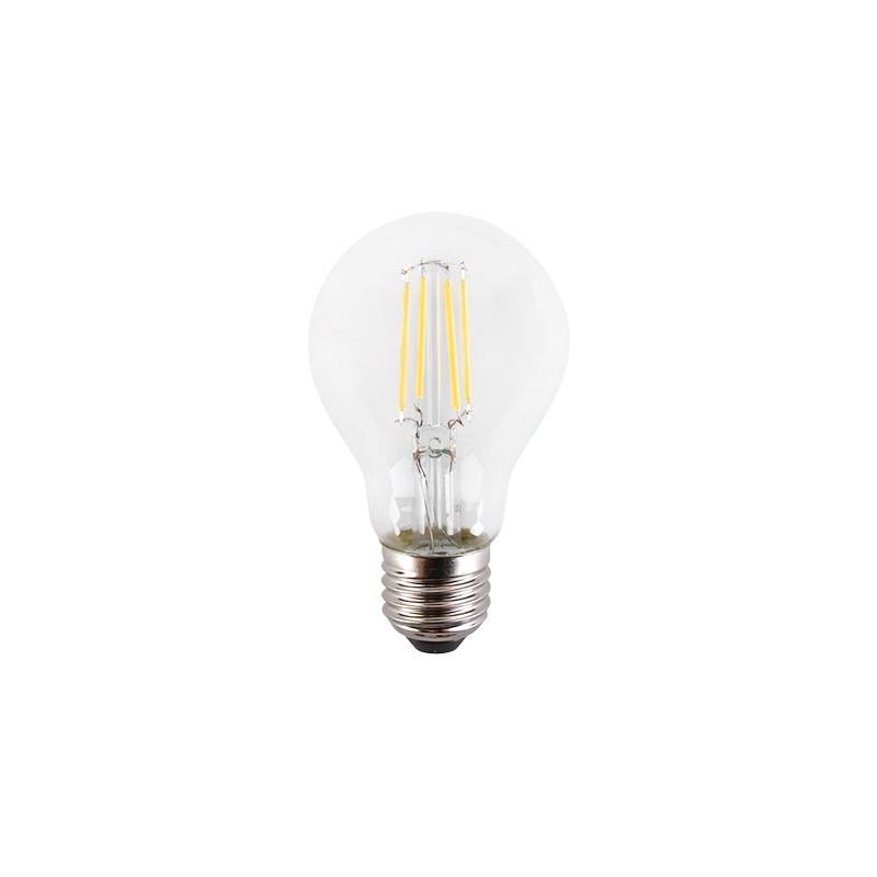Bec LED Filament 6W, E27, A60, Sticla Clara FL