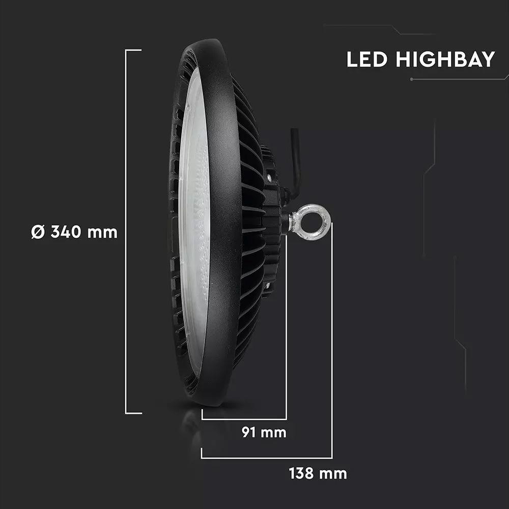 Lampa Industriala LED High Bay 150W, Lumina Rece (6400K) - Cip SAMSUNG