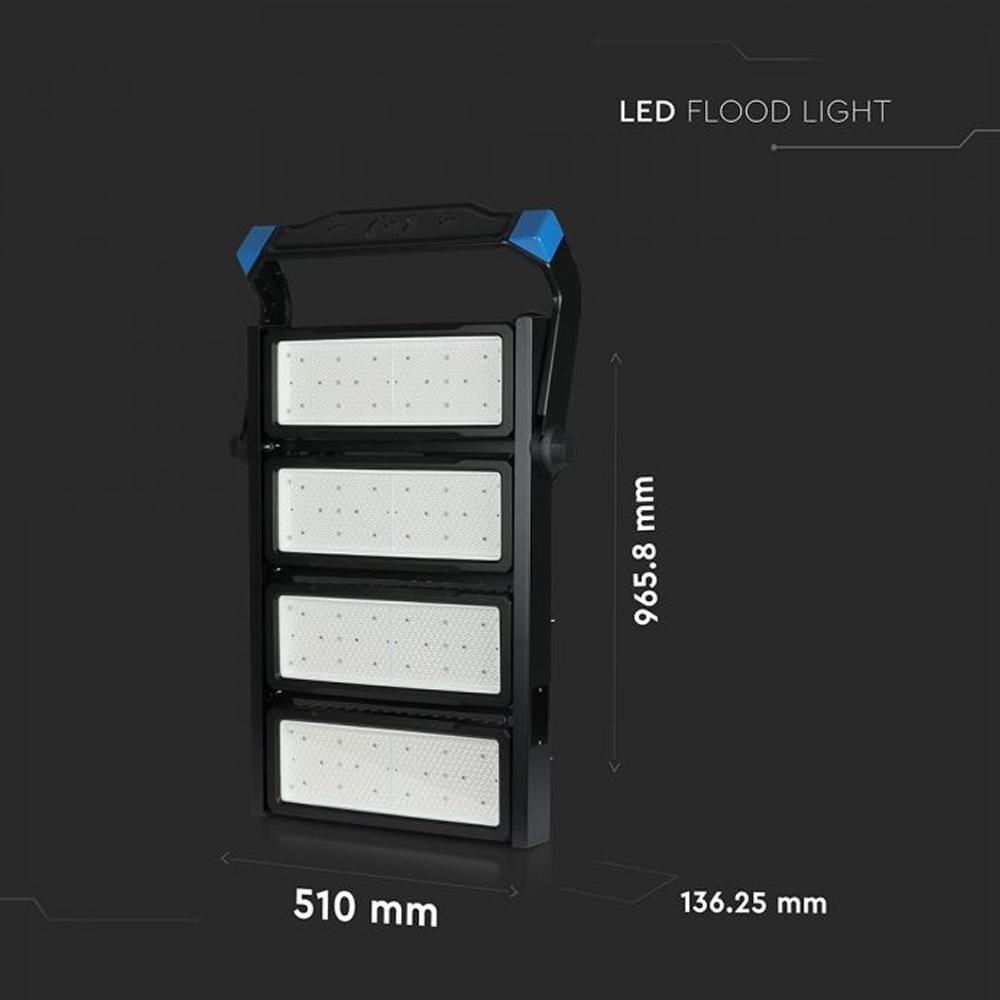 Proiector Nocturna LED 1000W, Lumina Naturala cu Cip Samsung si Driver Meanwel