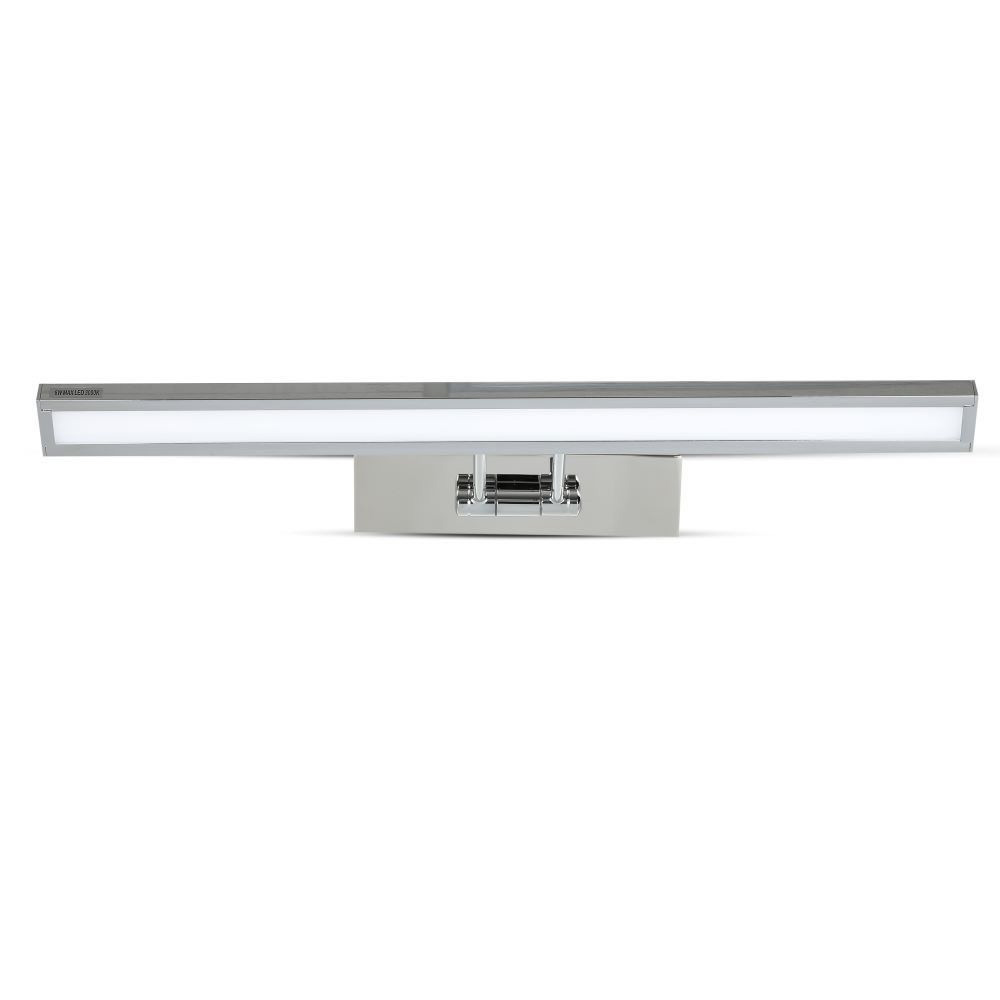 Lampa LED 8W pentru Tablou/Oglinda Crom, Lumina Calda