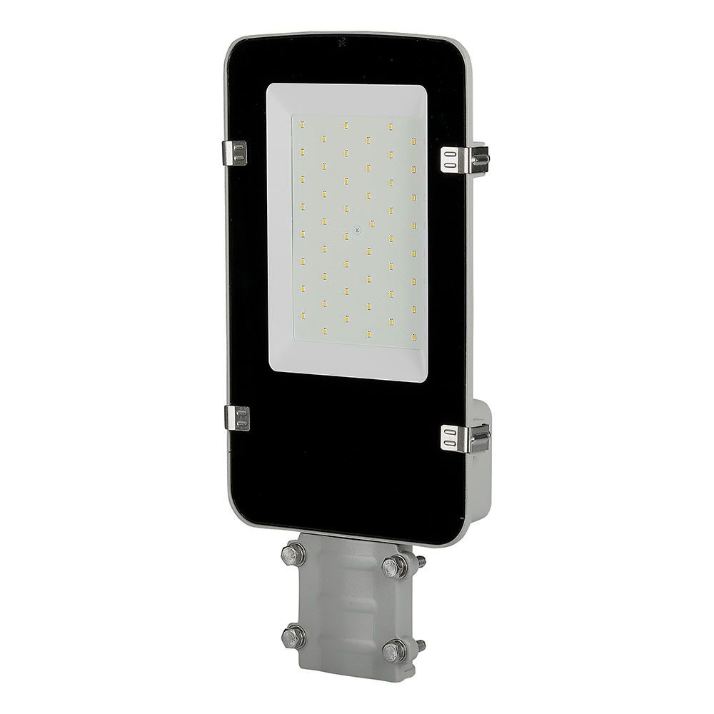Lumina Stradala LED 50W, Corp de Gri, Lumina Rece 6400K, SAMSUNG CHIP