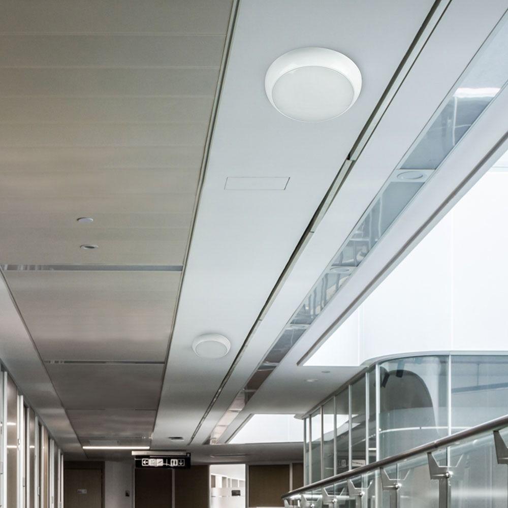 Aplica LED 15W cu Baterie de Urgenta, Rotunda, Lumina Naturala 4000K cu Cip Samsung