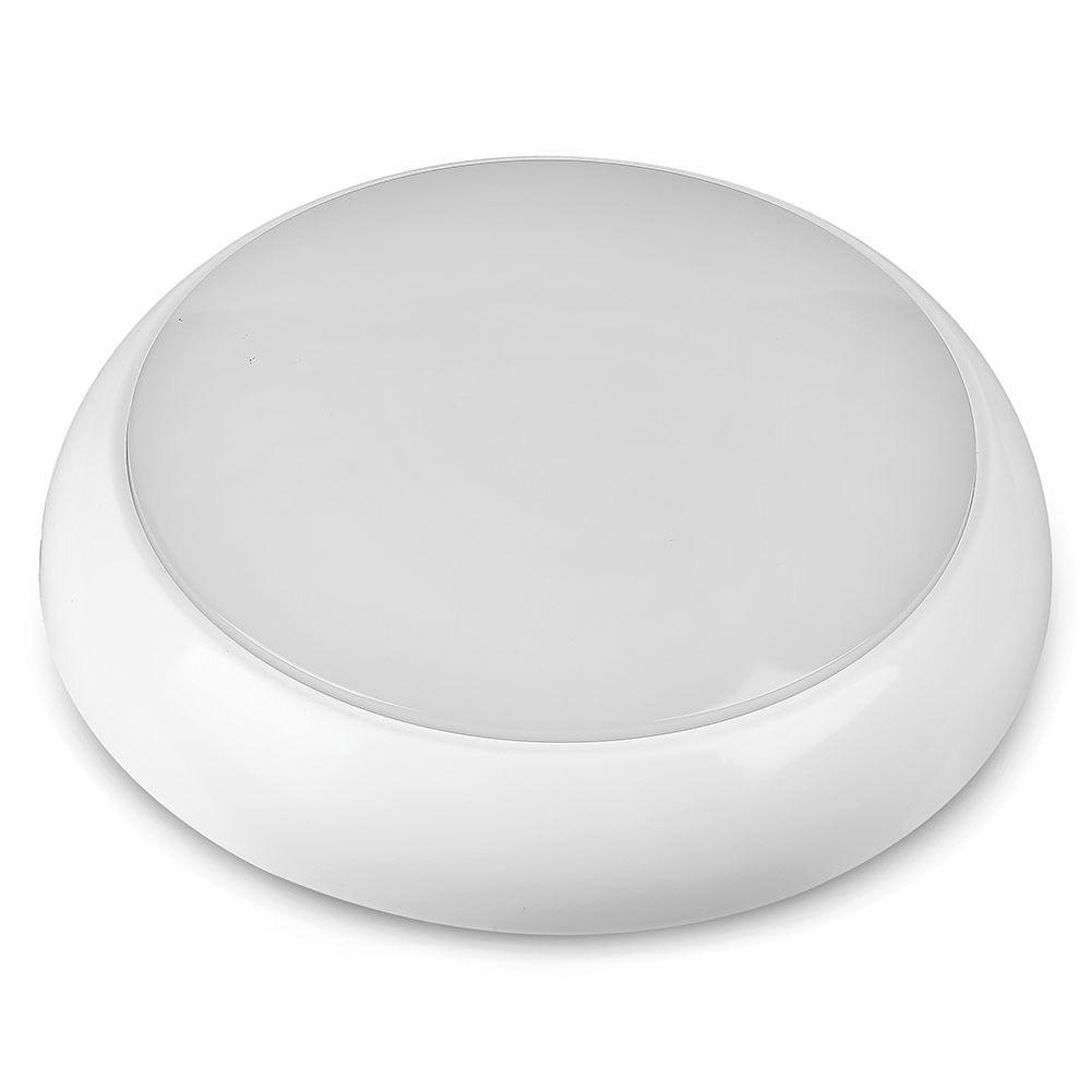 Aplica LED 15W cu Baterie de Urgenta, Rotunda cu Senzor, Lumina Naturala 4000K cu Cip Samsung