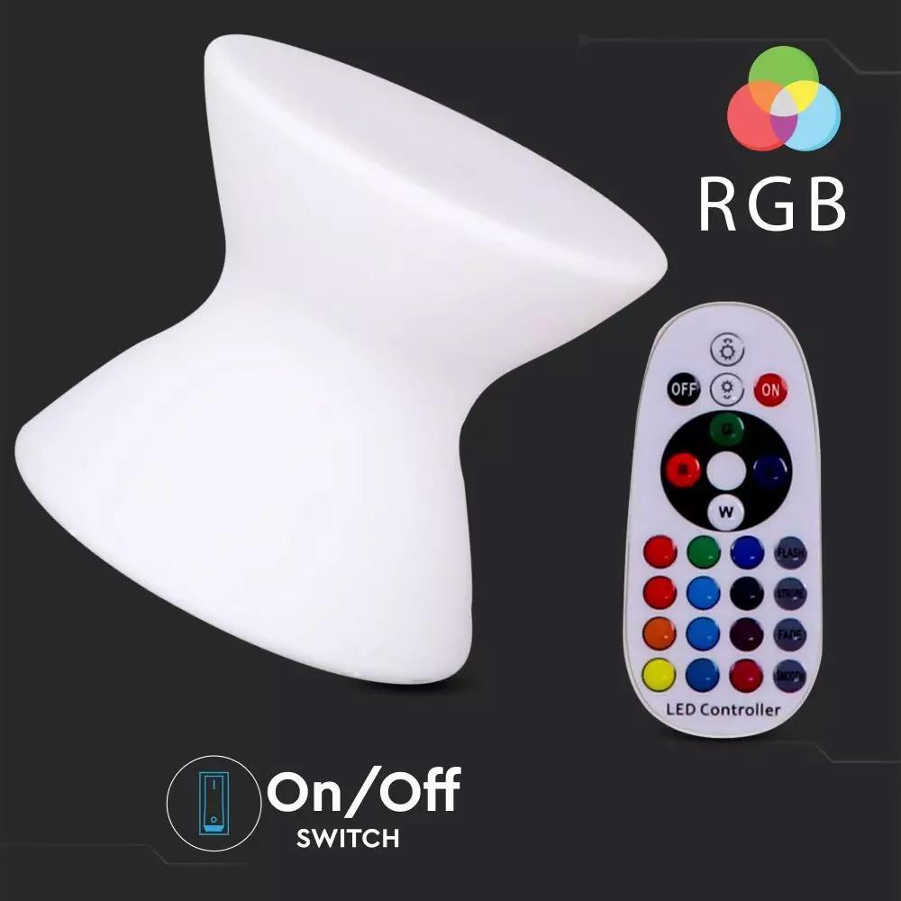 Taburet LED RGB 3W, 40x36CM, IP65