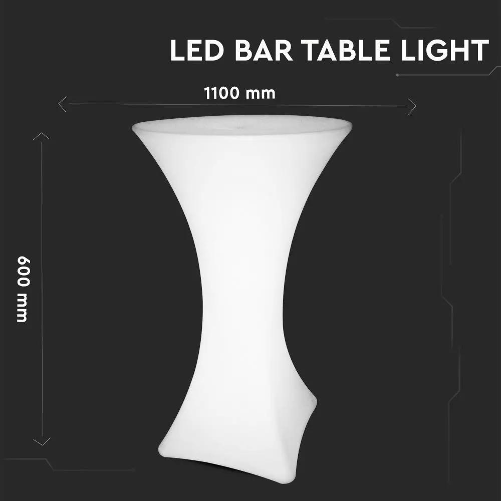 Masa LED RGB 5W, Inalta, D60x110CM, IP54