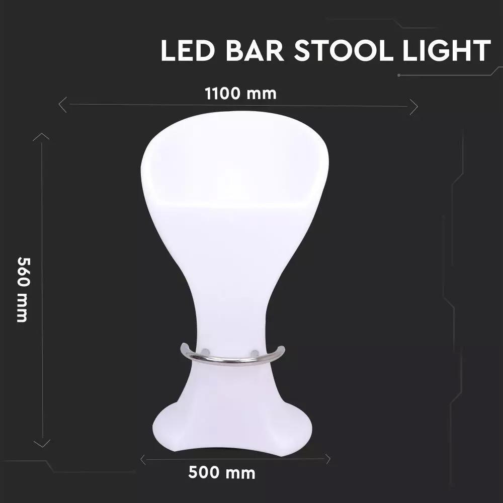 Scaun LED RGB 5W, D50x56x110CM, IP54