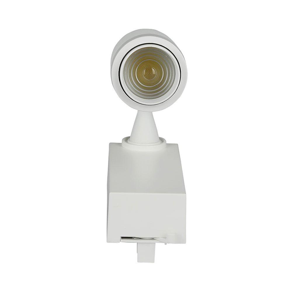 Proiector LED 15W pe sina cu Control prin Bluetooth 3 în 1, Corp ALB