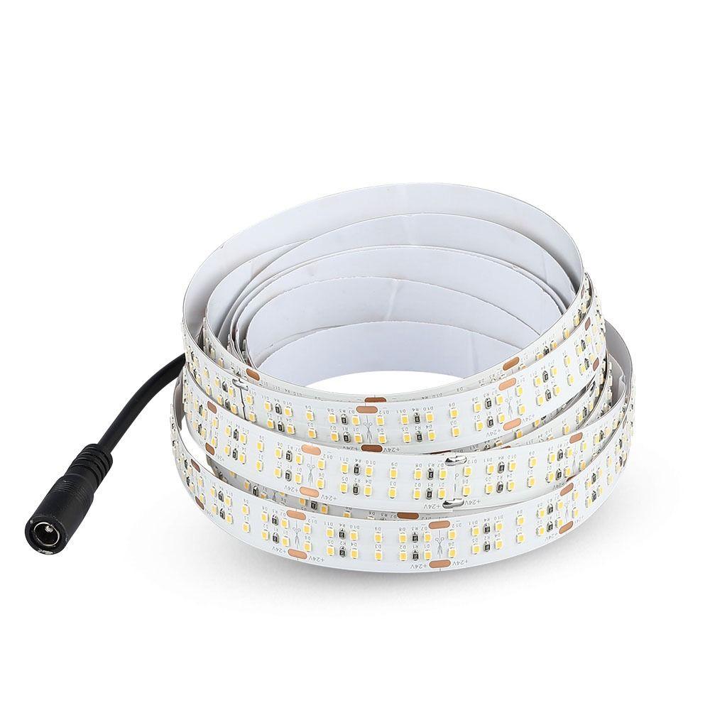 Banda LED SMD2216, 360LED/M, DC24V, 30W/M, Lumina Rece 6400K