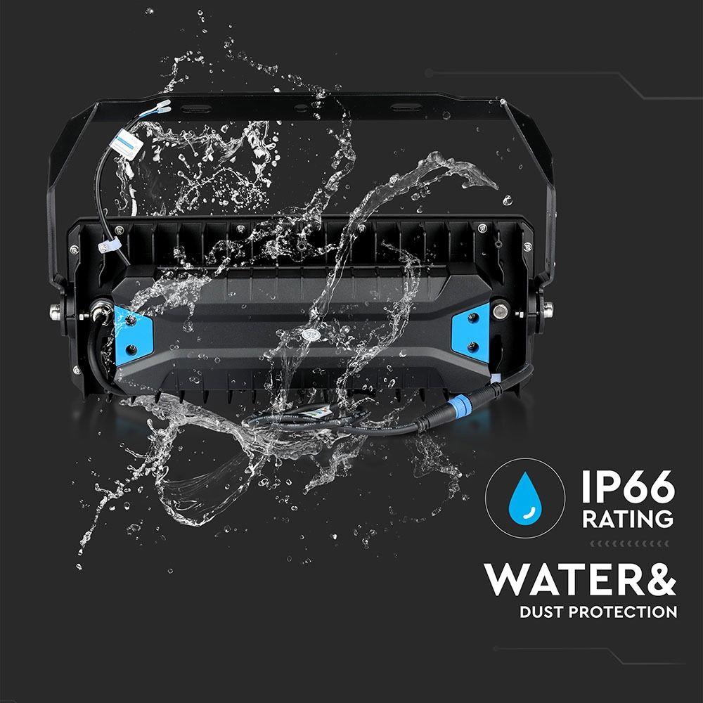 Proiector Nocturna LED 250W, Lumina Rece cu Cip Samsung si Driver Meanwell