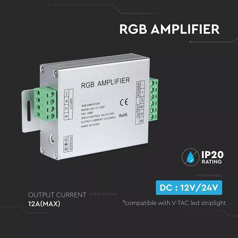 Amplificator RGB, 12A, 144W