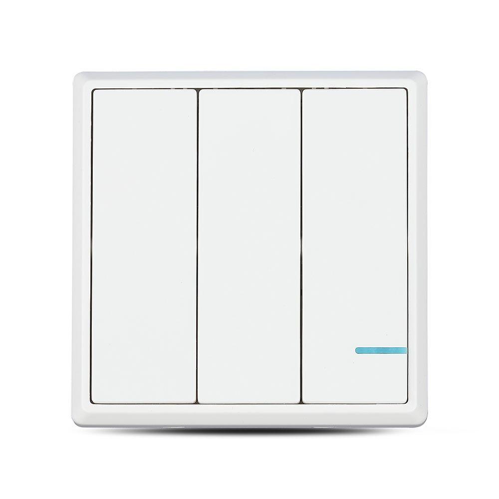 Intrerupator Triplu Wireless