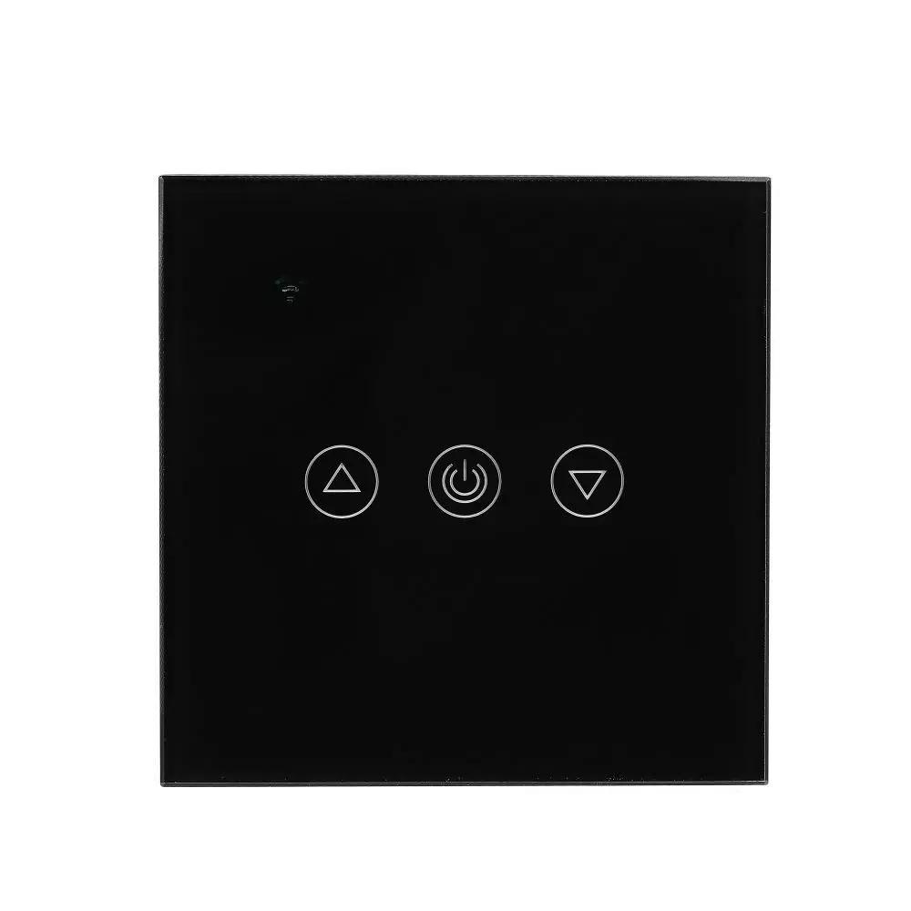 Intrerupator Wireless cu Dimmer Compatibil cu Amazon Alexa si Google Home, Corp Negru