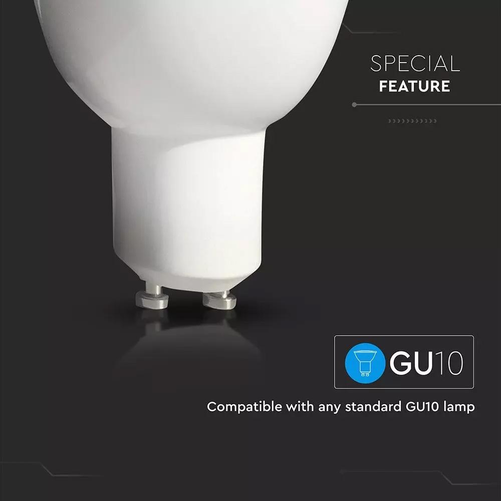 Spot LED 4.5W, 360LM, GU10, WIFI, 2700K - 6500K, Compatibil cu Alexa si Google Home
