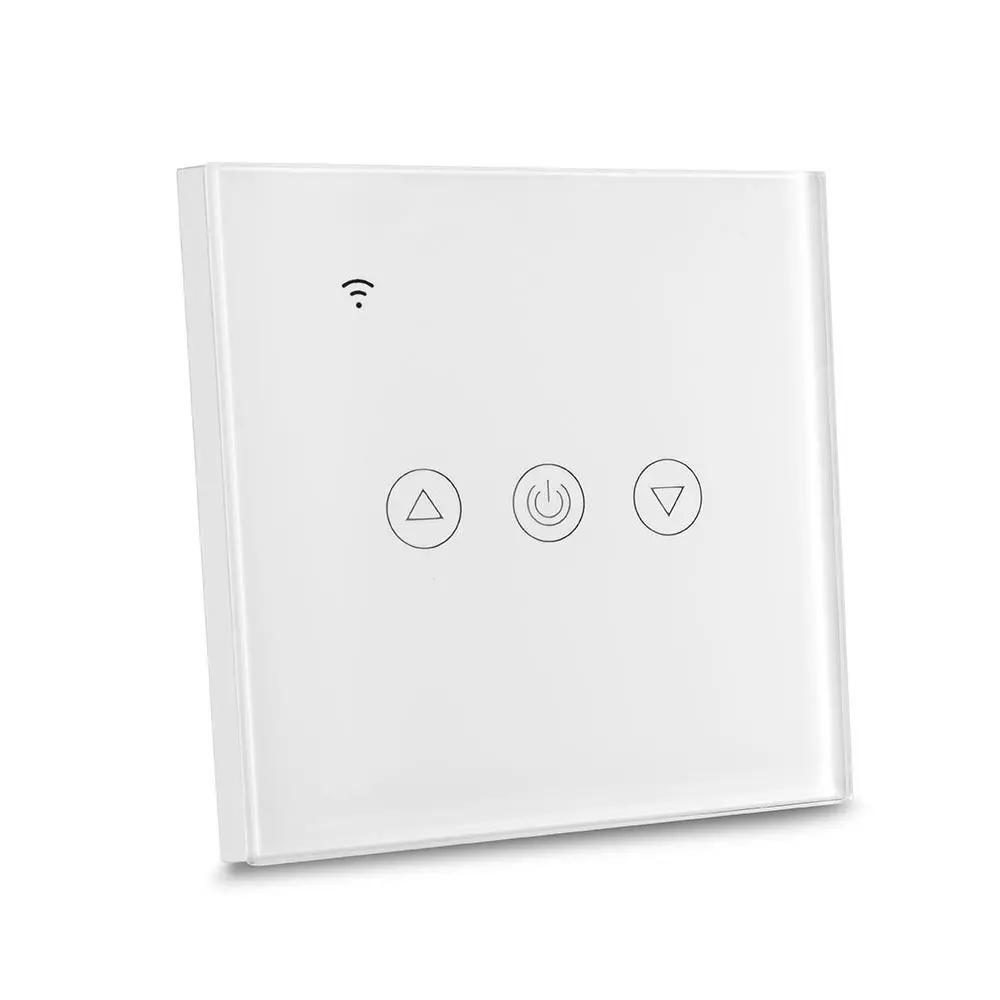 Intrerupator Wireless cu Dimmer Compatibil cu Amazon Alexa si Google Home, Corp Alb