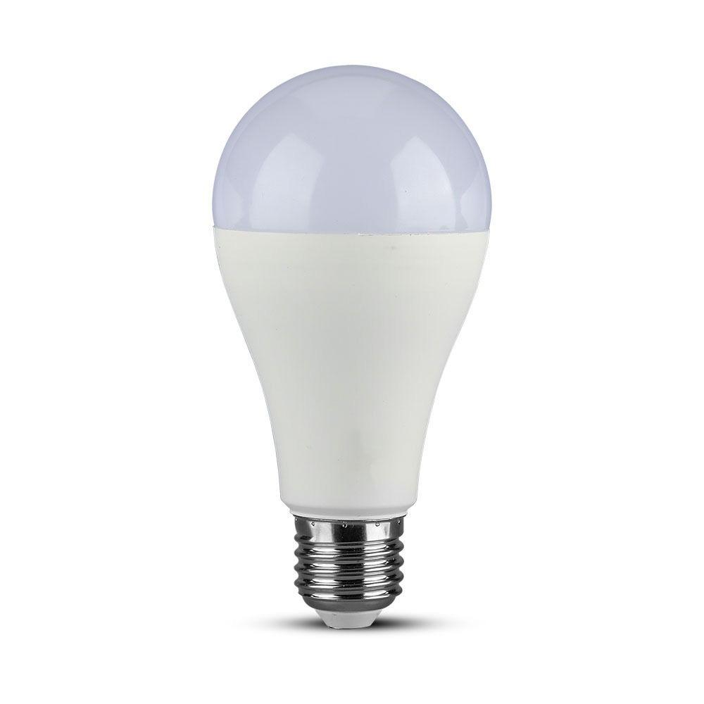 Bec LED 17W, E27, A65, Plastic, Lumina Rece 6400K - CIP SAMSUNG