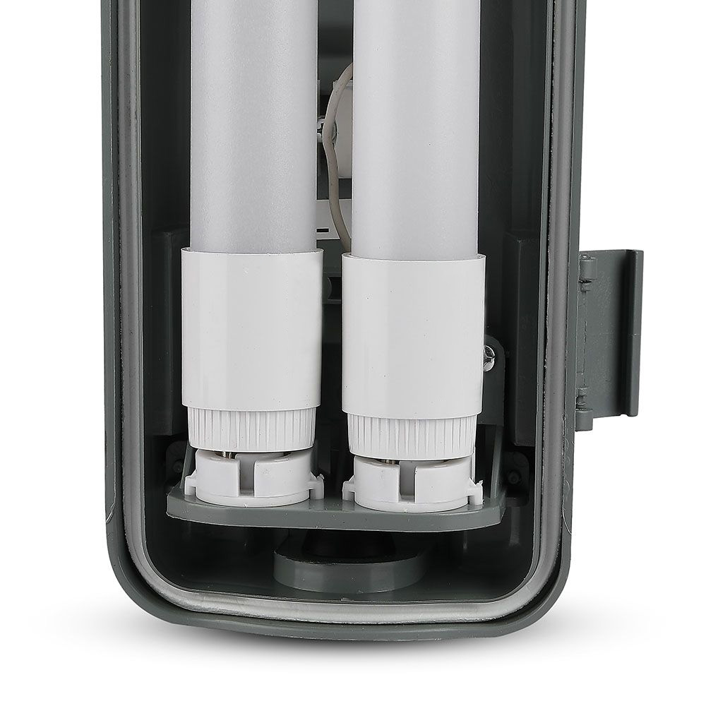Lampa LED cu Tuburi 2x1200mm - 2x18W, Lumina Naturala (4000K) IP65