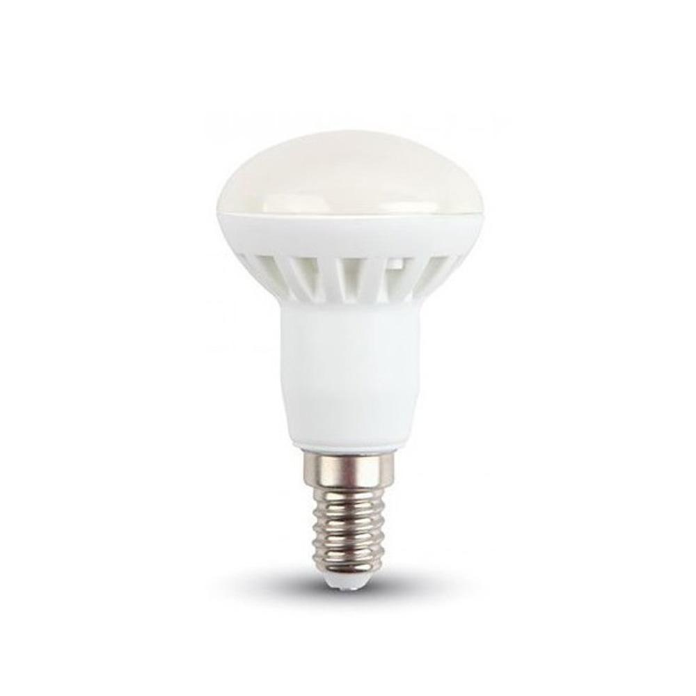 Bec LED 6W, 400LM, E14, R50, Lumina Calda 3000K