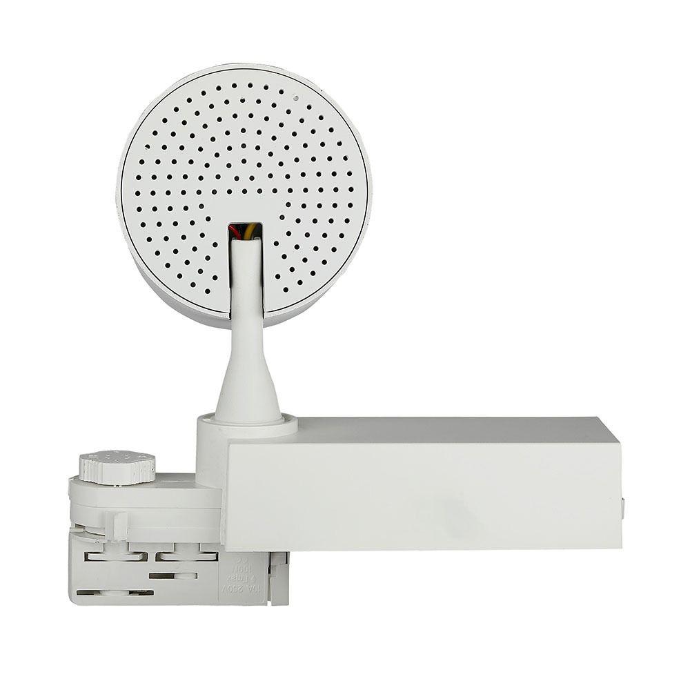 Proiector LED 35W pe Sina cu Control Bluetooth 3 in 1, Corp Alb