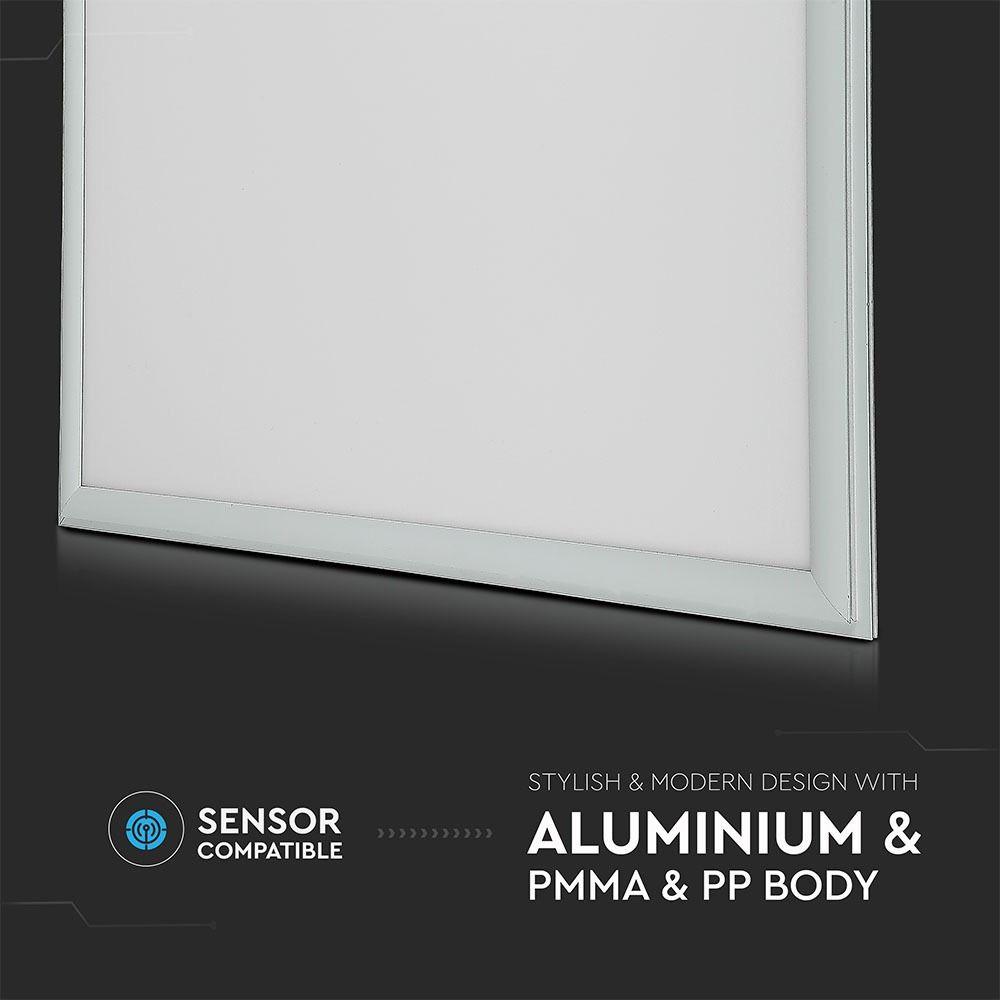 PANOU LED 45W, 600X600MM, 120LM/W, 3000K, DRIVER INCLUS