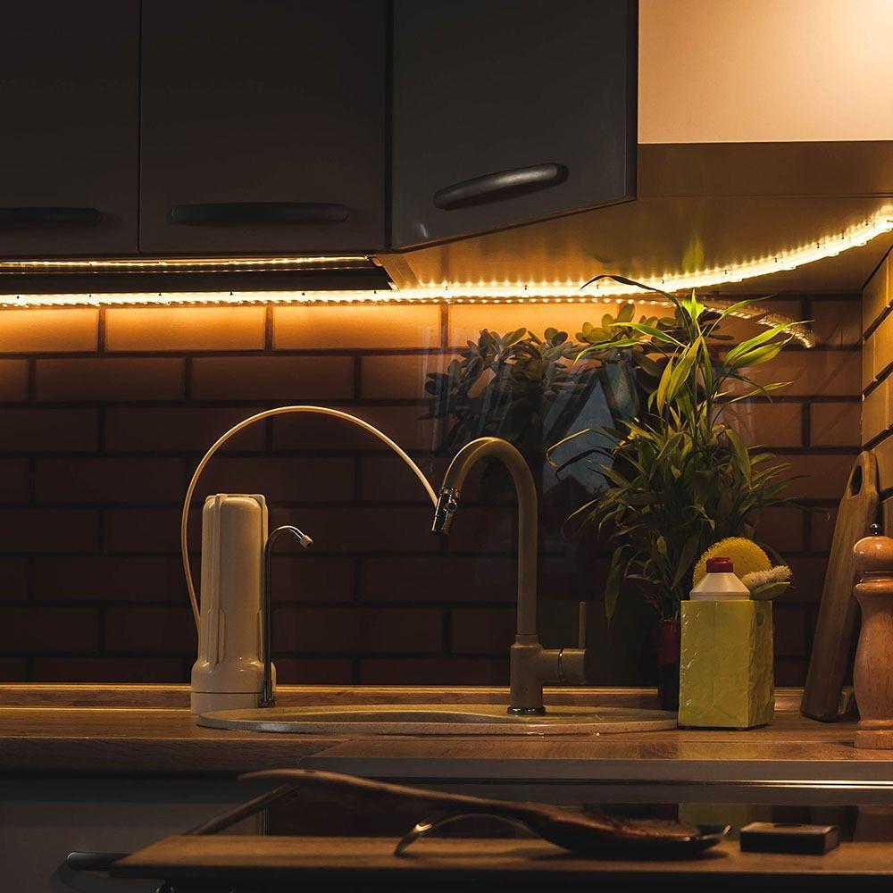 Banda LED SMD 2835, 60 LED/M, 12V, IP20, Lumina Rece 6400K