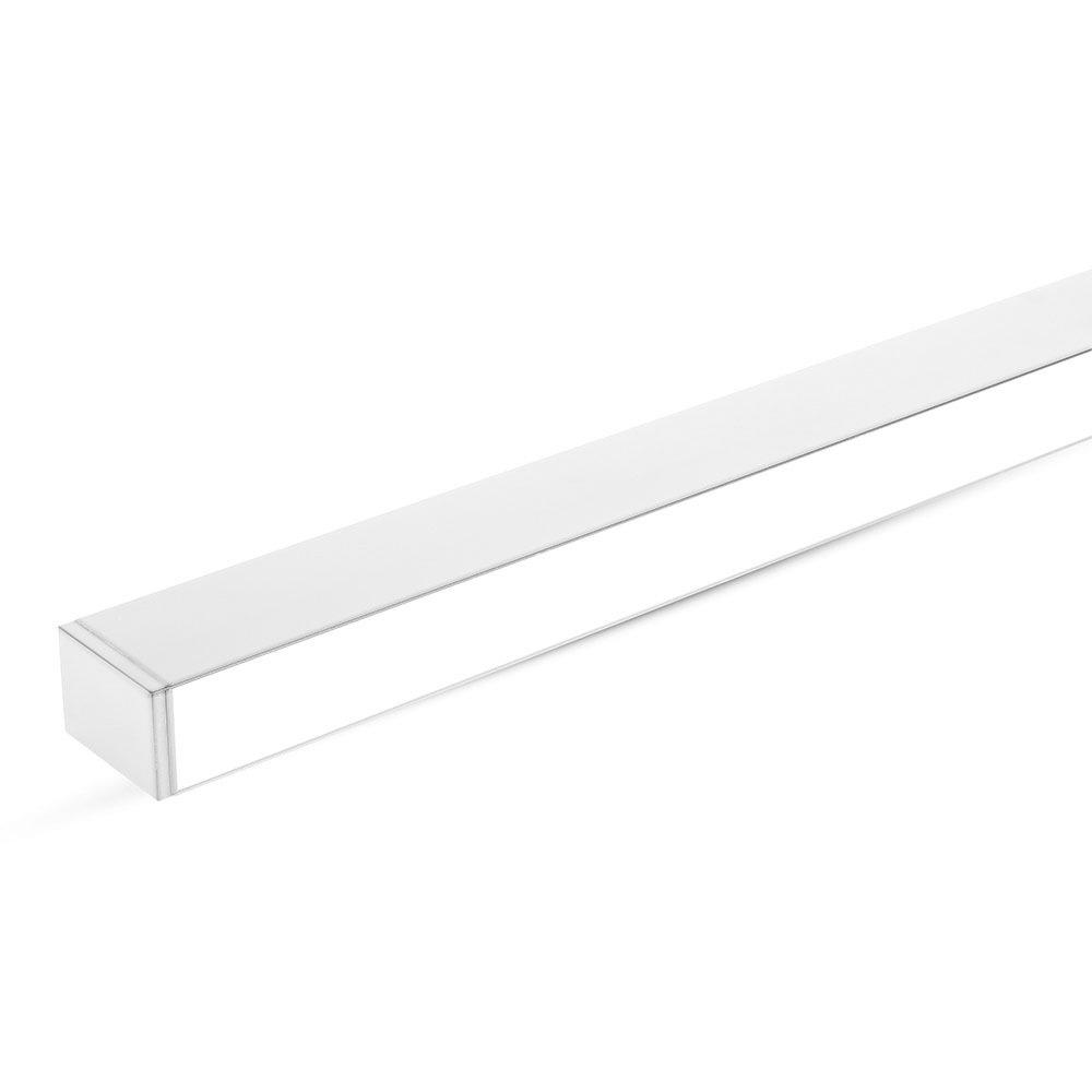Lampa LED Liniara Suspendata cu Lumina Sus/Jos, 60W, Corp Alb, 4000K cu Cip Samsung