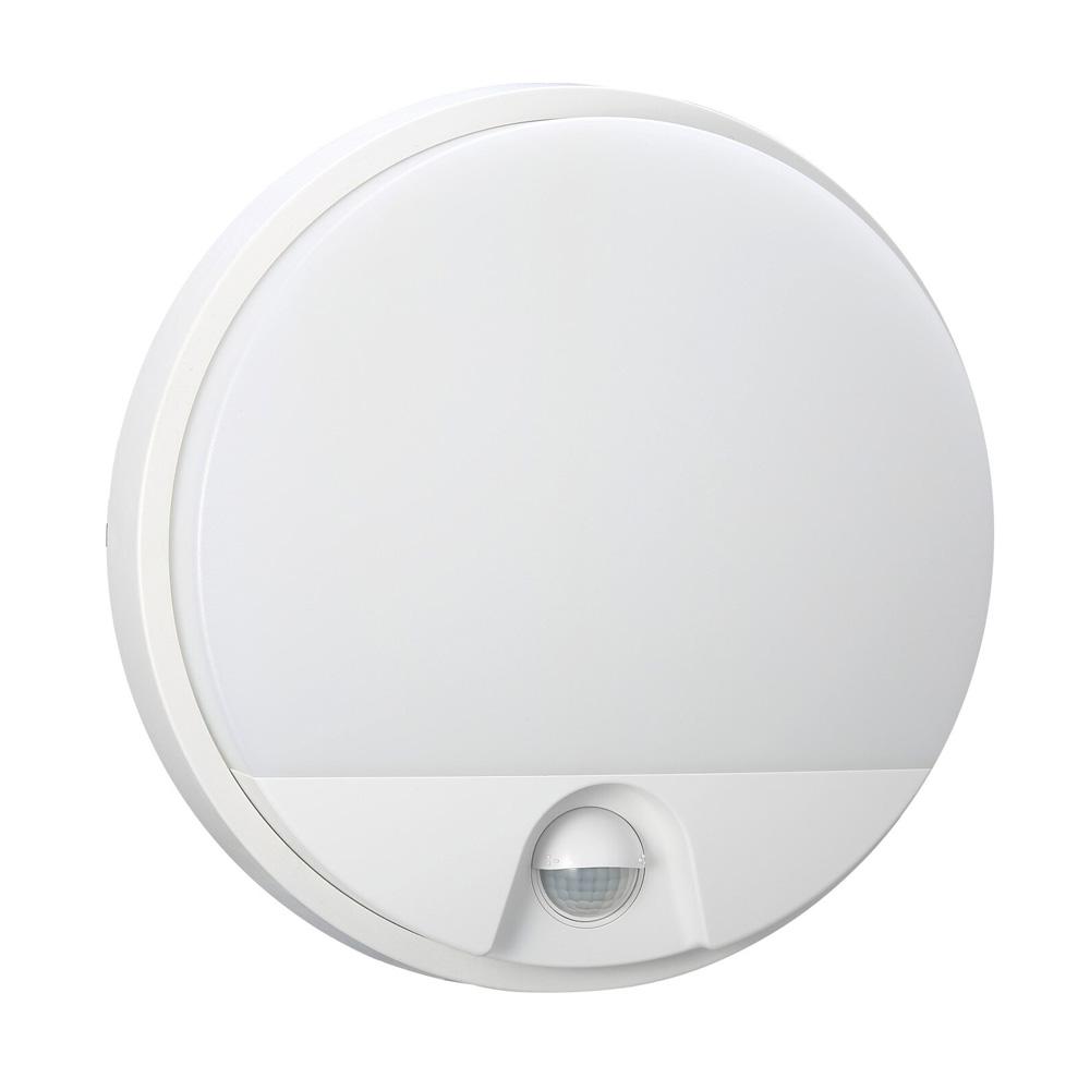 Aplica LED Rotunda 15W, 1230LM, Lumina Naturala 4000K cu Sensor