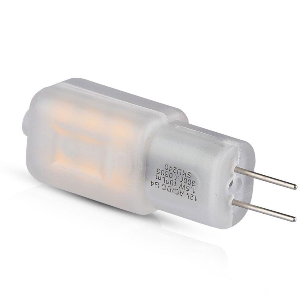 Bec LED G4, 1.5W, 12V, 180LM, Lumina Calda 3000K