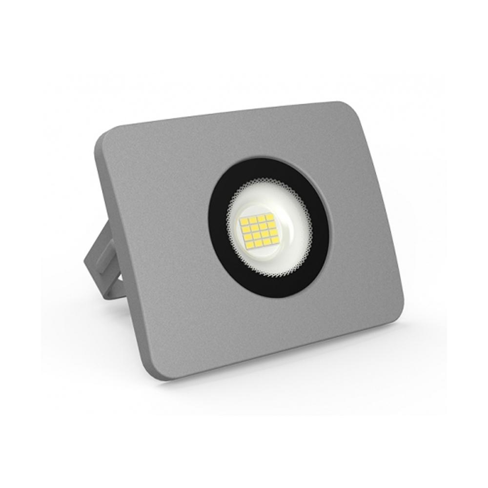 Proiector LED 20W, 1500LM, Corp Gri, Lumina Rece