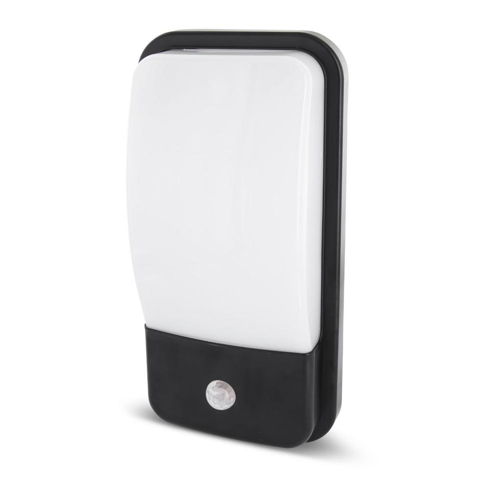 Lampa Aplicata cu Senzor 20W, 1600LM, IP65, Lumina calda (3000K) + Stickere Cifre/Litere