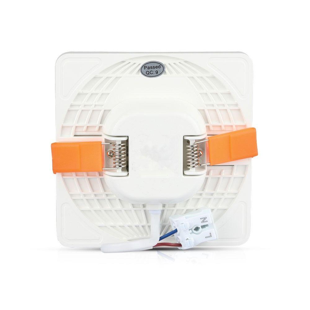 Panou LED Ajustabil 24W, Patrat, Lumina Naturala 4000K Cip SAMSUNG