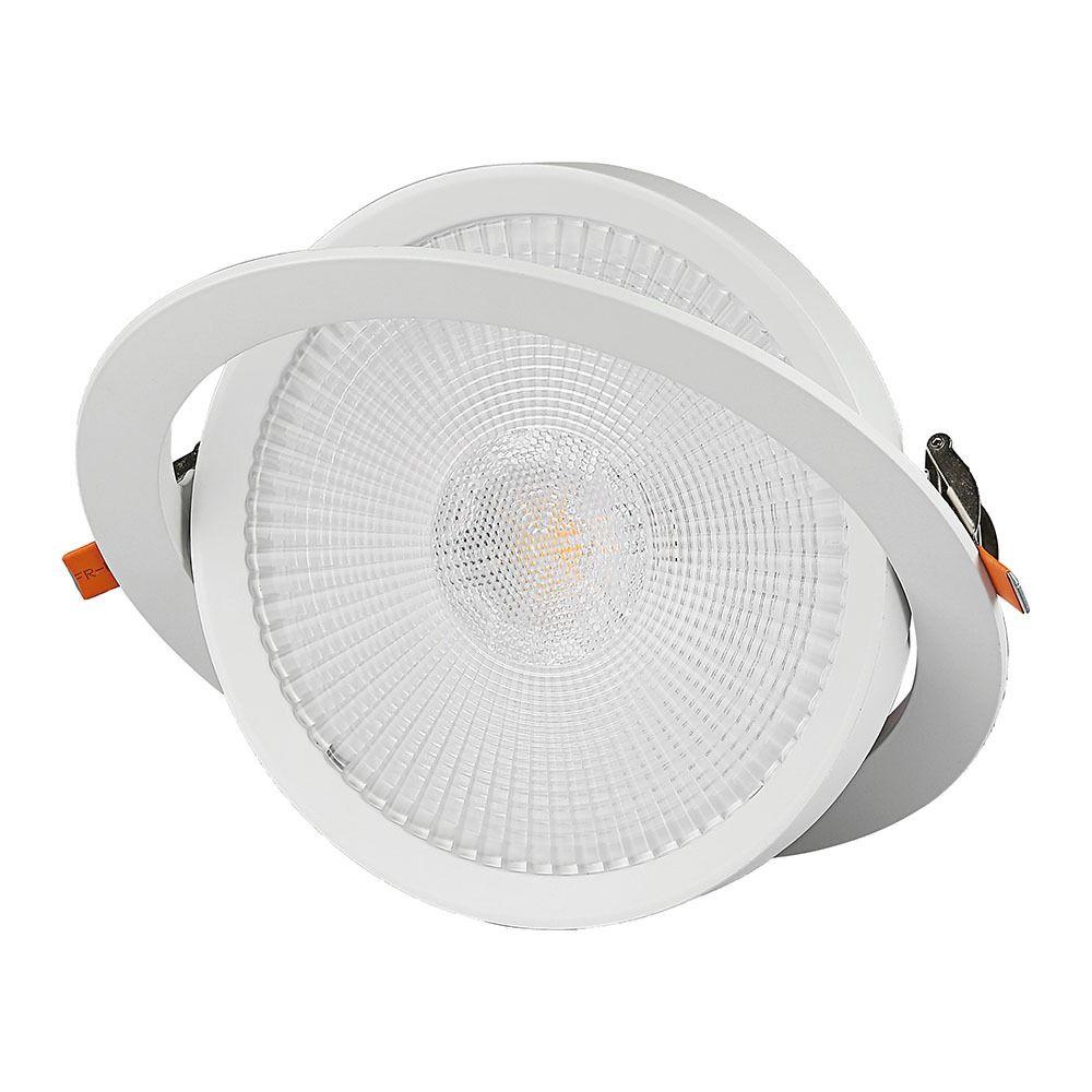 Spot LED 20W, Orientabil, Lumina Naturala (4000K) Cip SAMSUNG