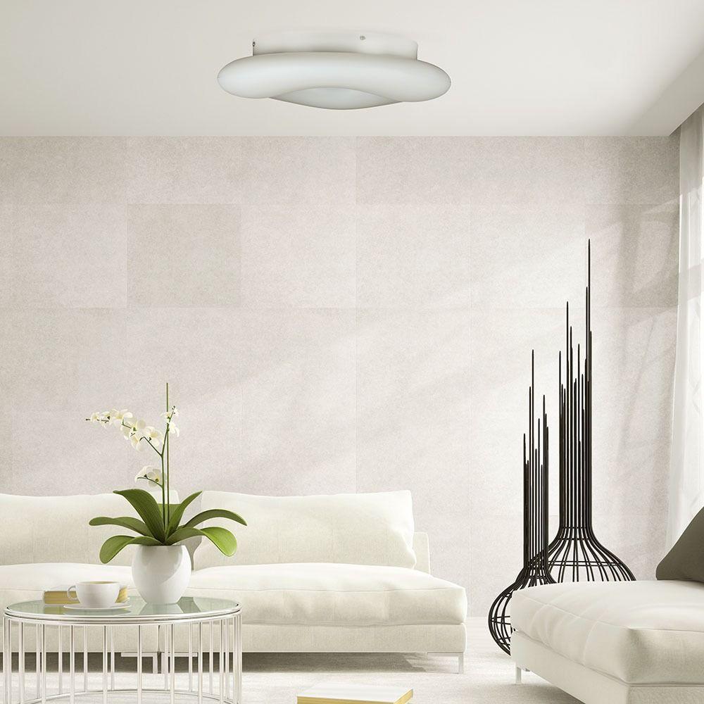Aplica LED 80W, Rotunda, Dimabila, Alba