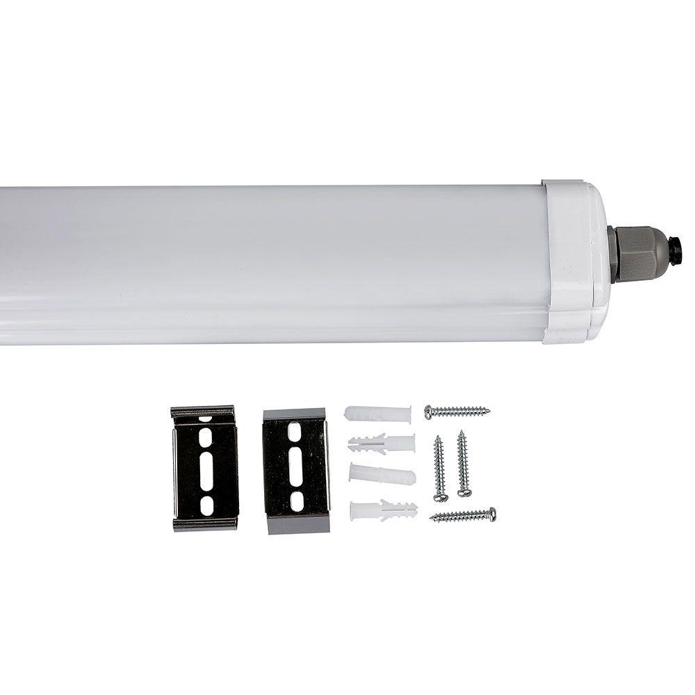 Lampa Liniara LED Impermeabila G-SERIES 1200mm 36W, Lumina Rece (6400K)