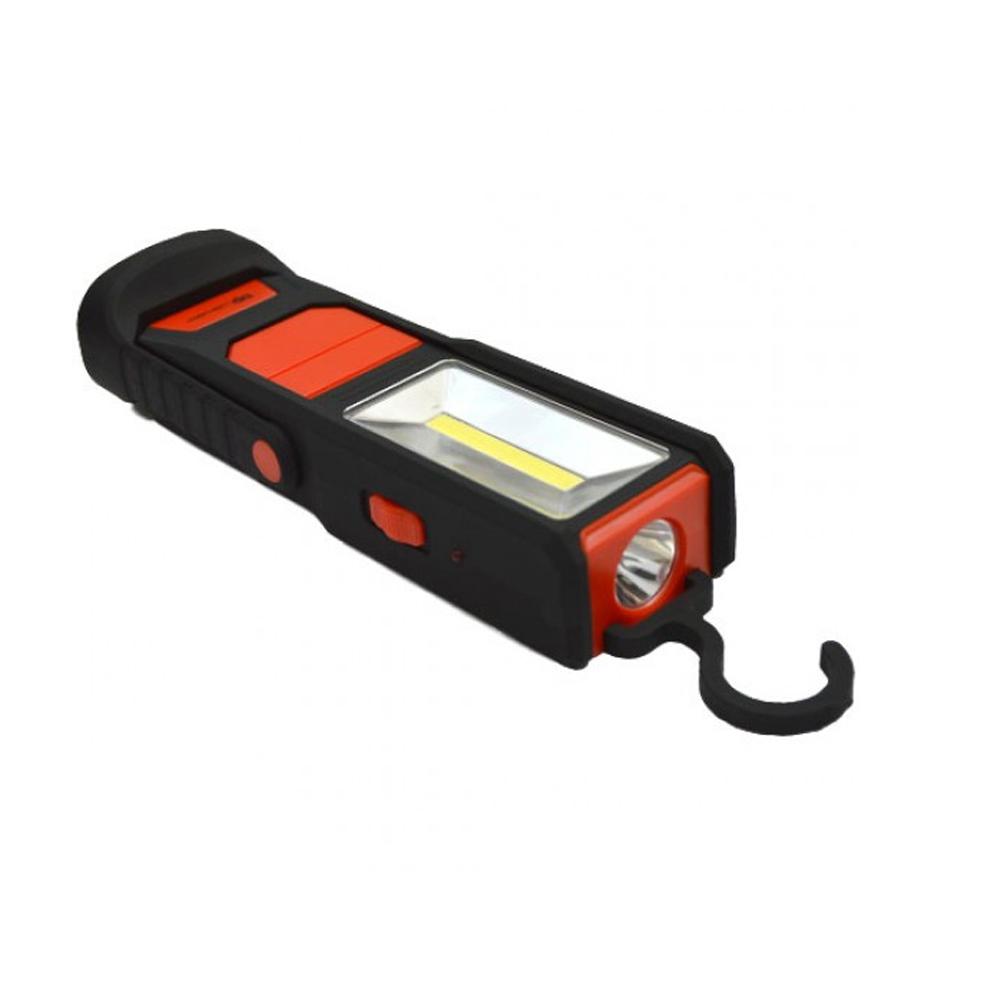 Lampa LED de mana COB 1 + 2W cu Magnet si Baterie 1200mAh