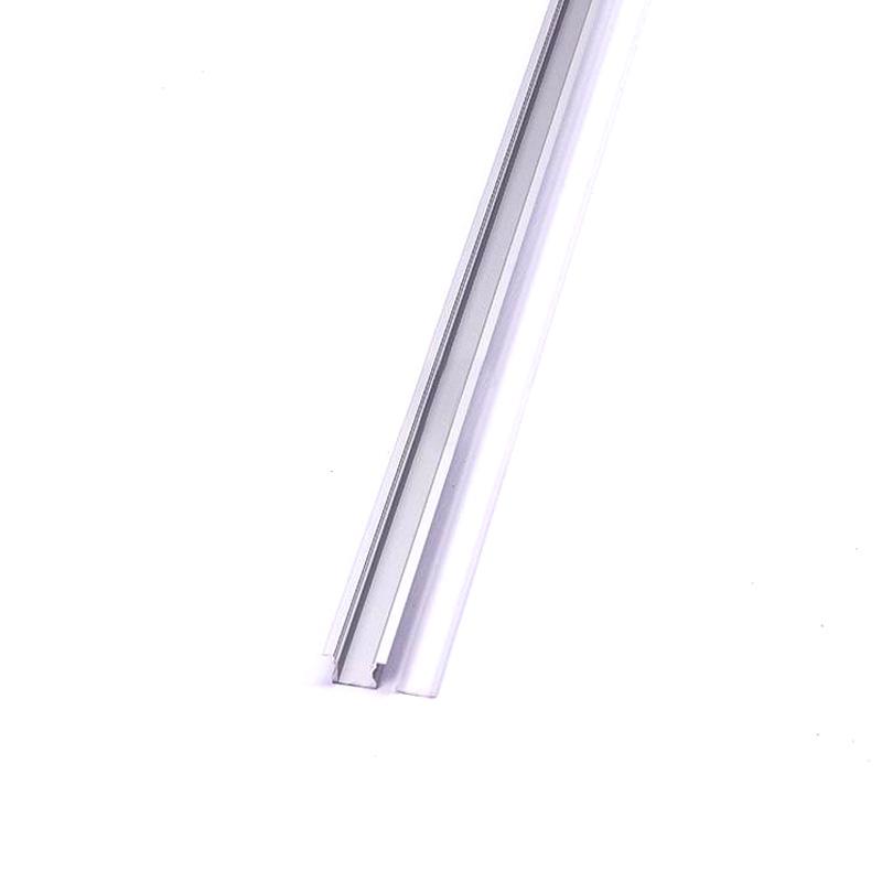 Profil de Aluminu cu Dispersor Mat, 2000 x 24.5 x 12.2mm
