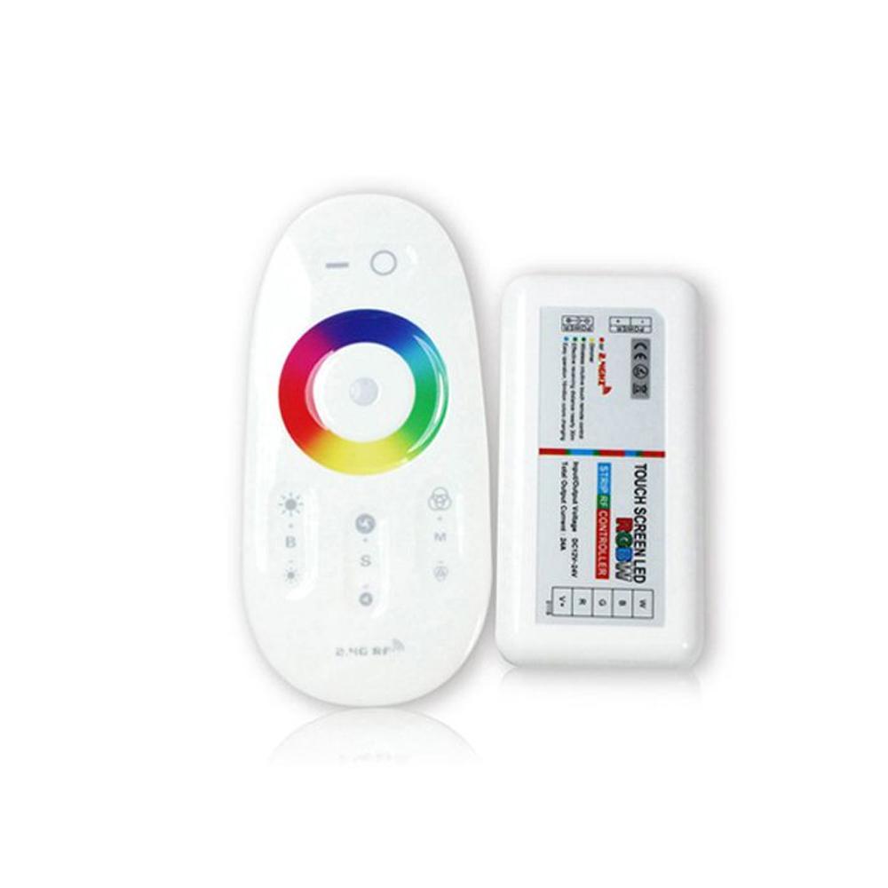 Set Controller cu Telecomanda RGBW, 2.4GHZ, Max 10A, DC12V-24V