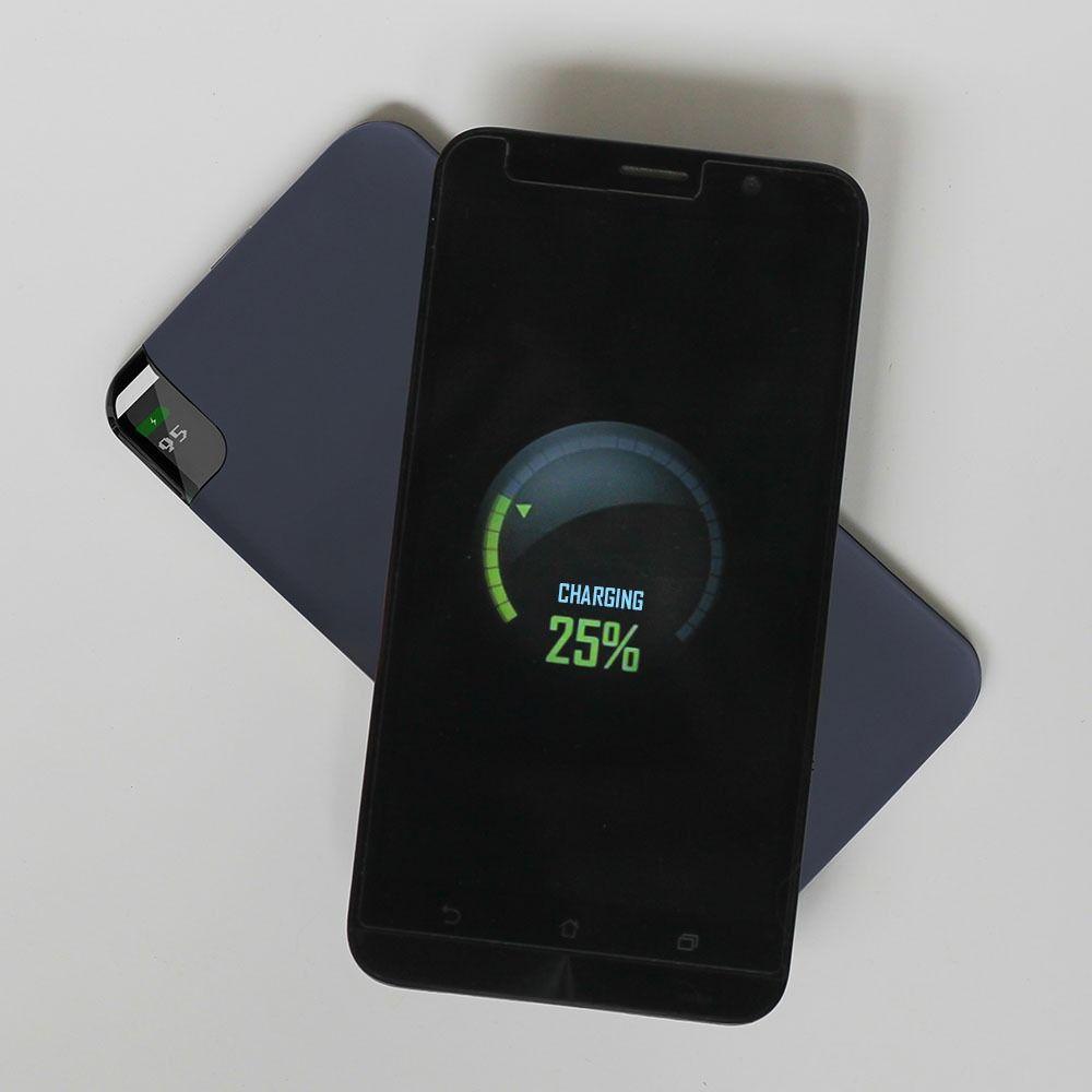 Baterie Externa Portabila, 8000mAh, Culoare Neagra, Wirelles