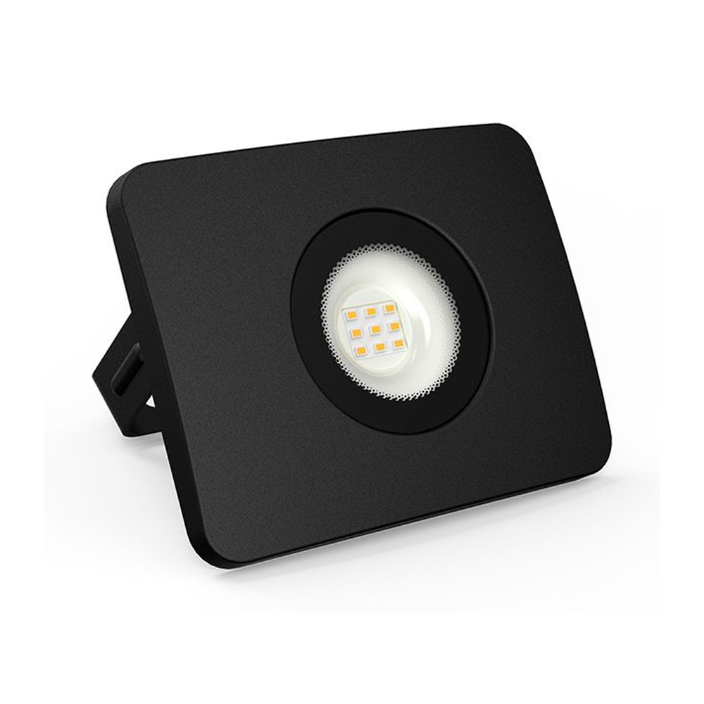 Proiector LED 50W, 3500LM, Corp Negru, Lumina Calda