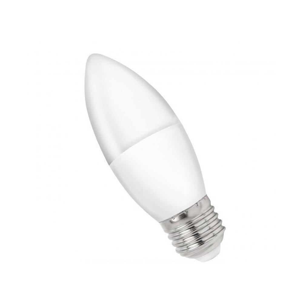 Bec LED Lumanare 8W, 650LM, E27, Lumina Rece 6000K