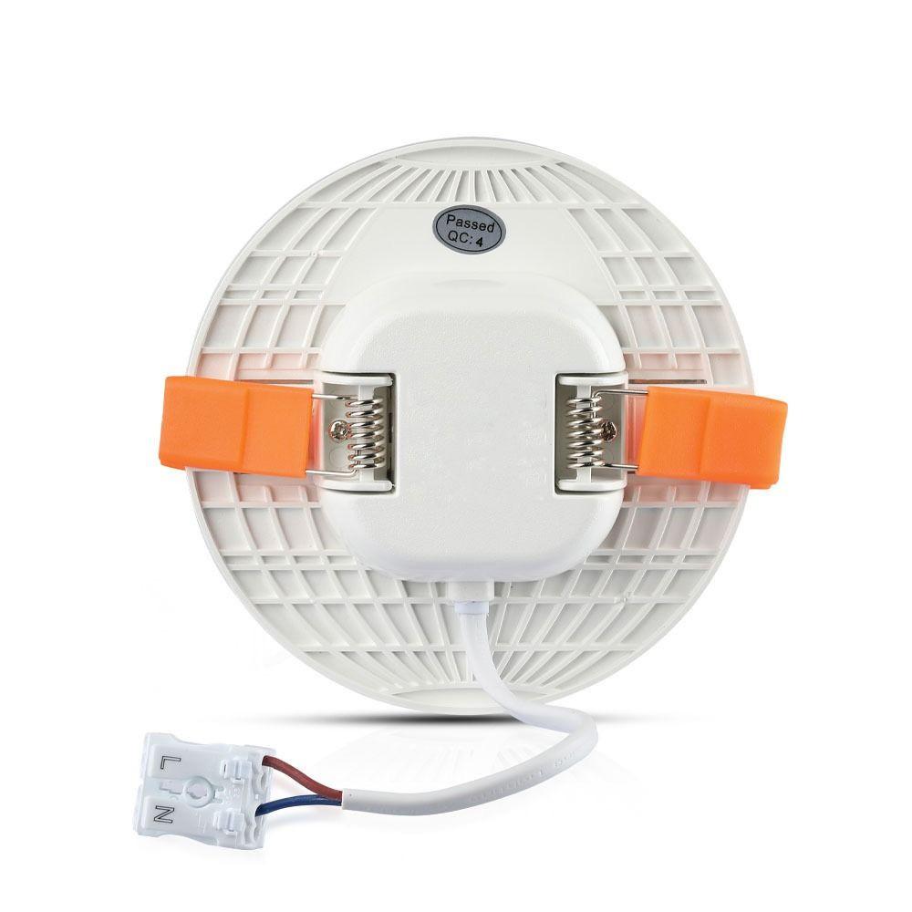 Panou LED 12W, Ajustabil, Rotund, Lumina Rece 6400K - Cip SAMSUNG