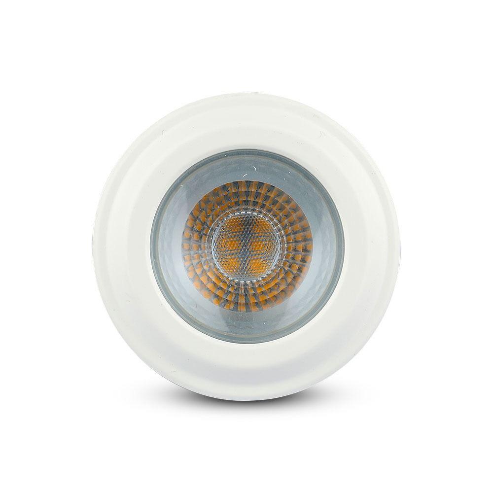 Bec LED 7W, E27, PAR20, Plastic, Lumina Calda 3000K  - Chip SAMSUNG