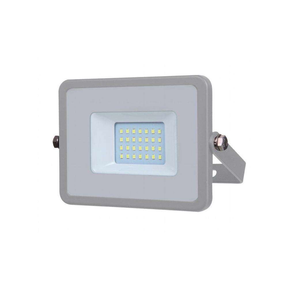 Proiector LED 30W, Corp Gri, Lumina Naturala cu Cip Samsung