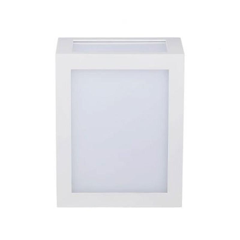 Lampa LED de Perete 12W, Corp Alb, Lumina Naturala (4000K) IP65