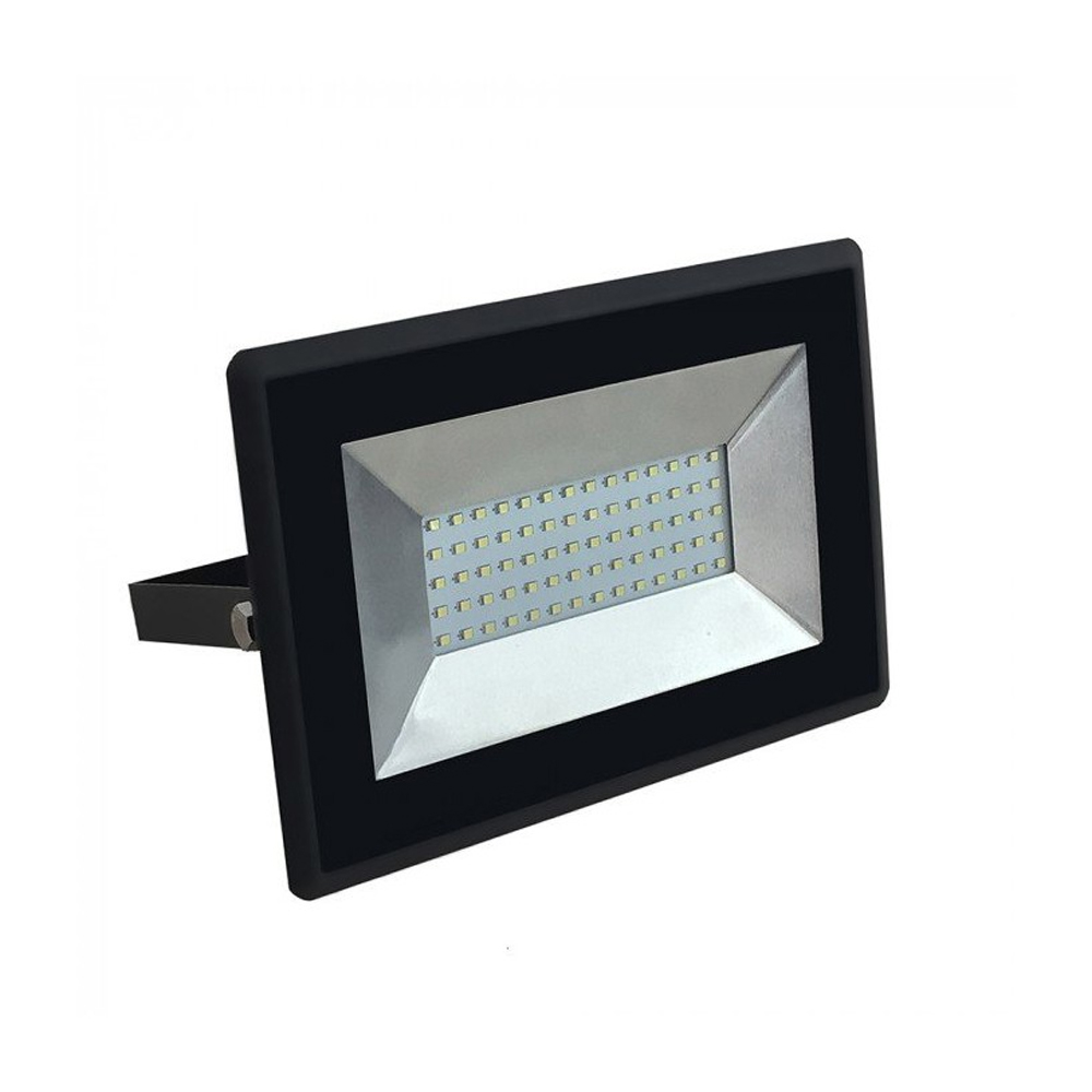 Proiector LED 20W, Corp Negru, Lumina Verde