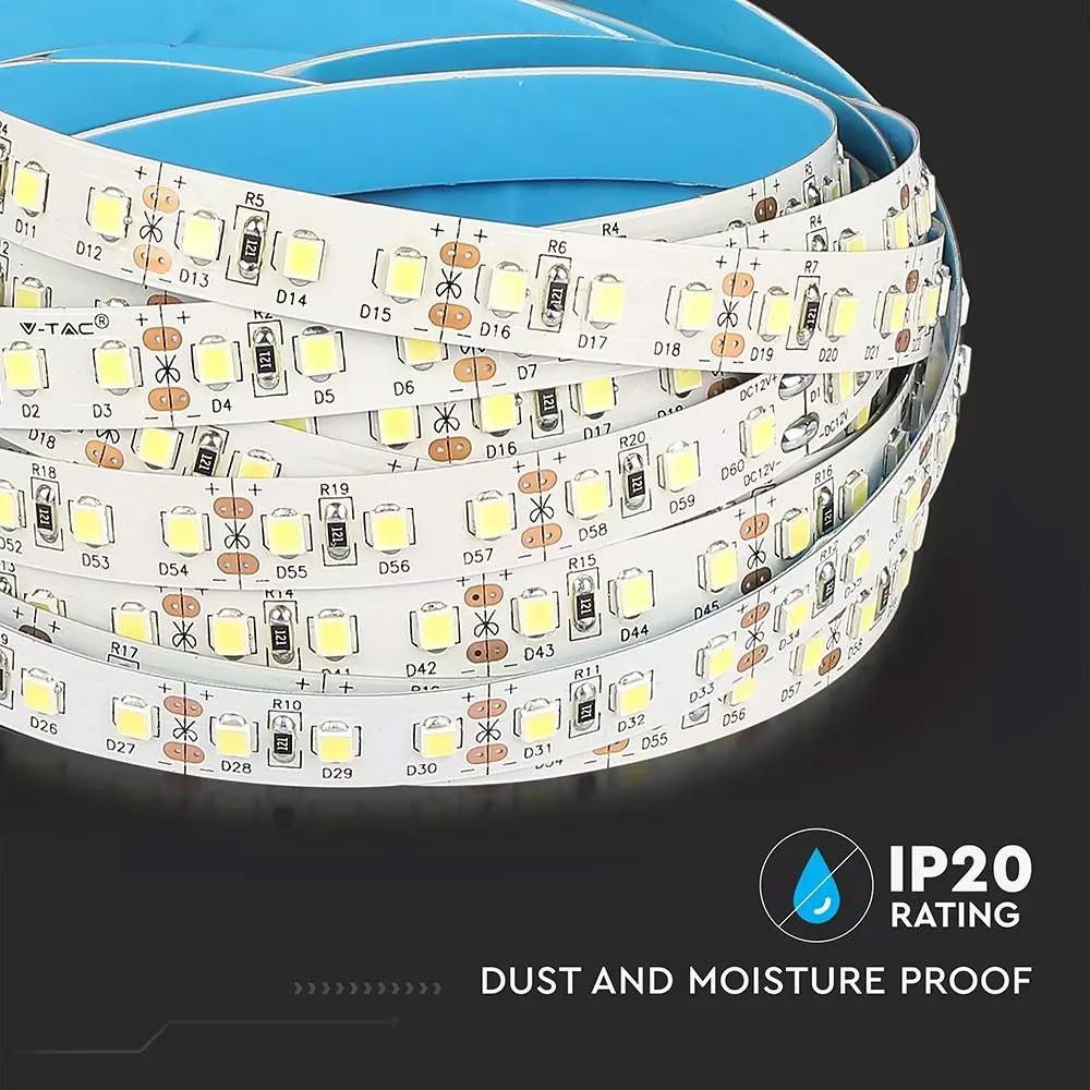 Banda LED 2835, 12 W/m 120 LED/M, 12V, IP20, Lumina Calda 3000K, CIP SAMSUNG