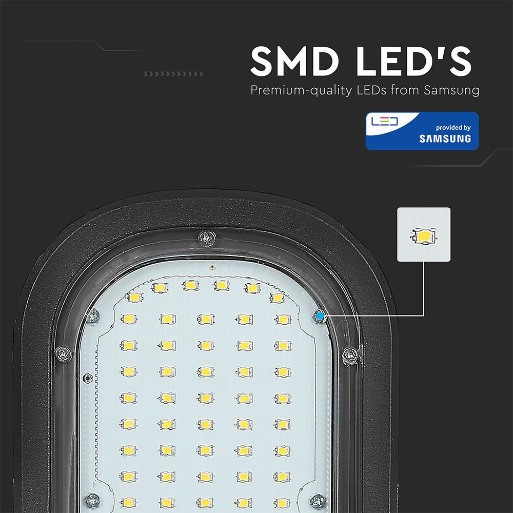 Lampa Stradala LED 50W, Lumina Naturala cu Chip SAMSUNG