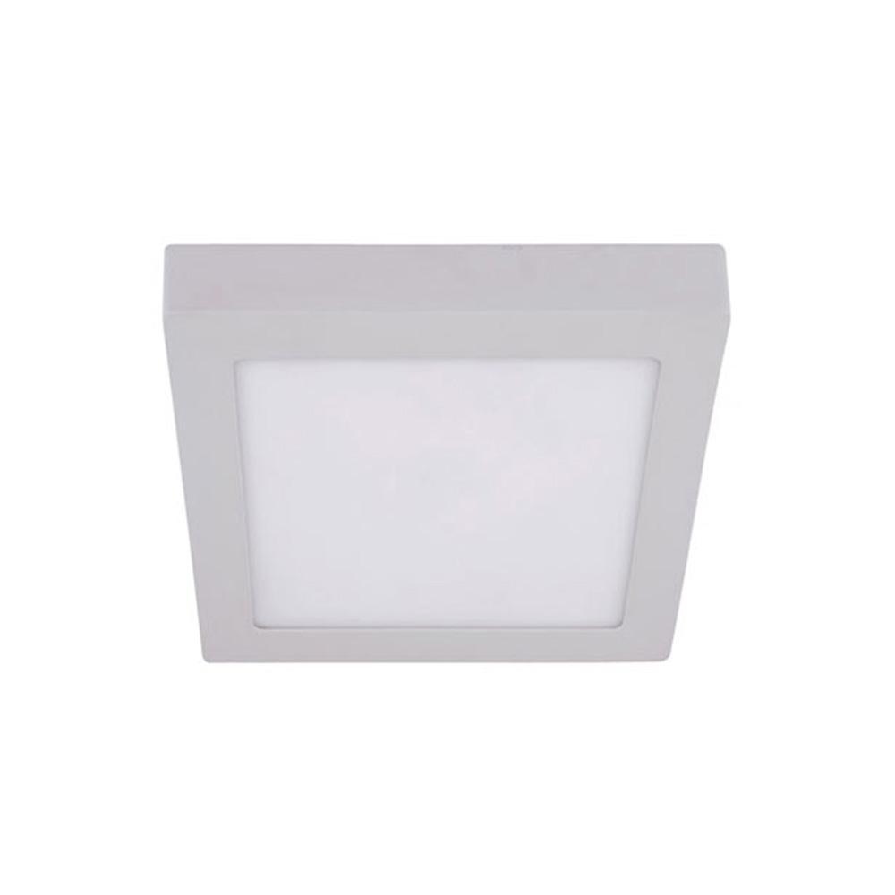 Panou LED Patrat Aplicat 12W, 860LM, Lumina Naturala 4000K, IP40, AC100 - 265V