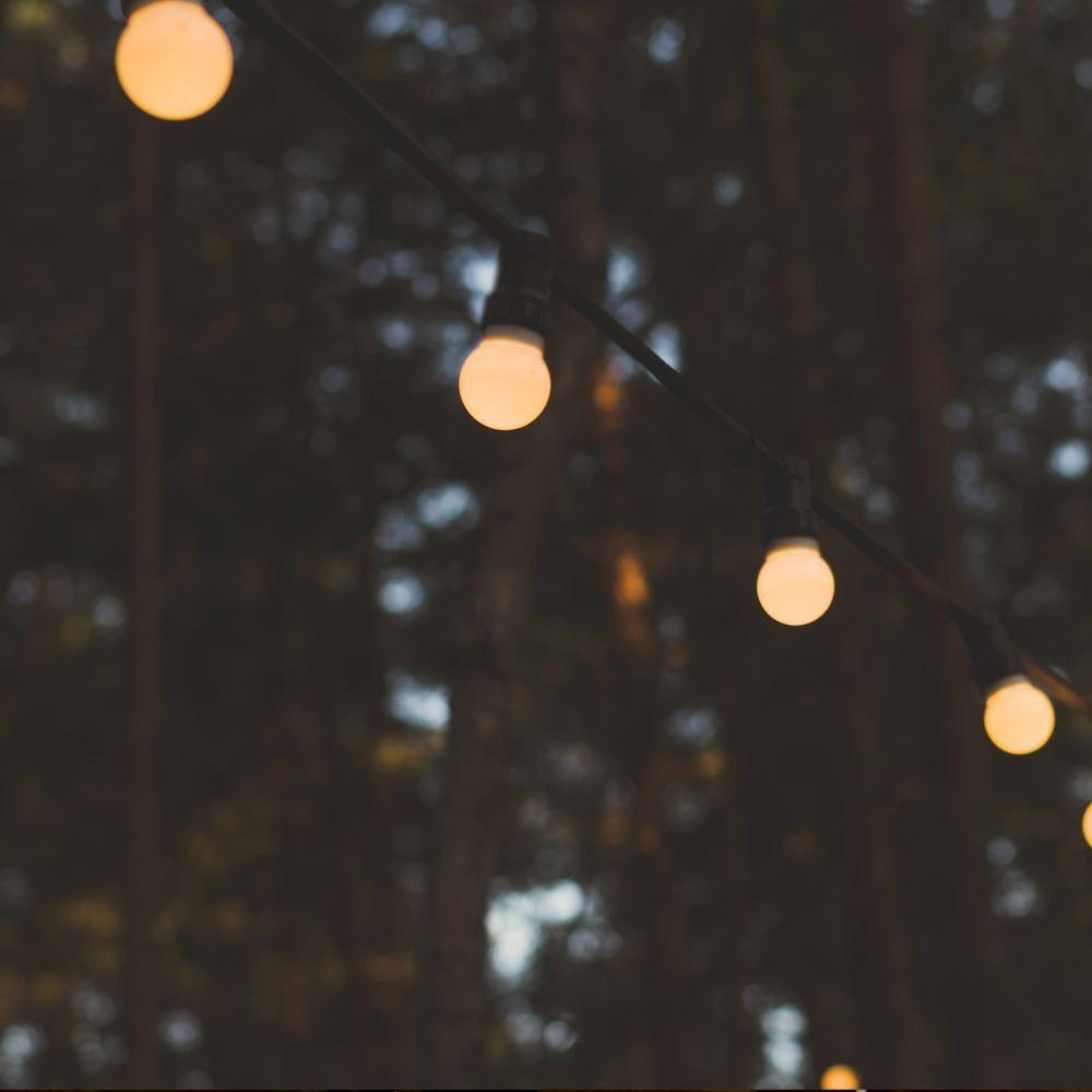 Ghirlanda Luminoasa 10m cu 20 de becuri LED x 0.5W, Lumina Calda (3000K)