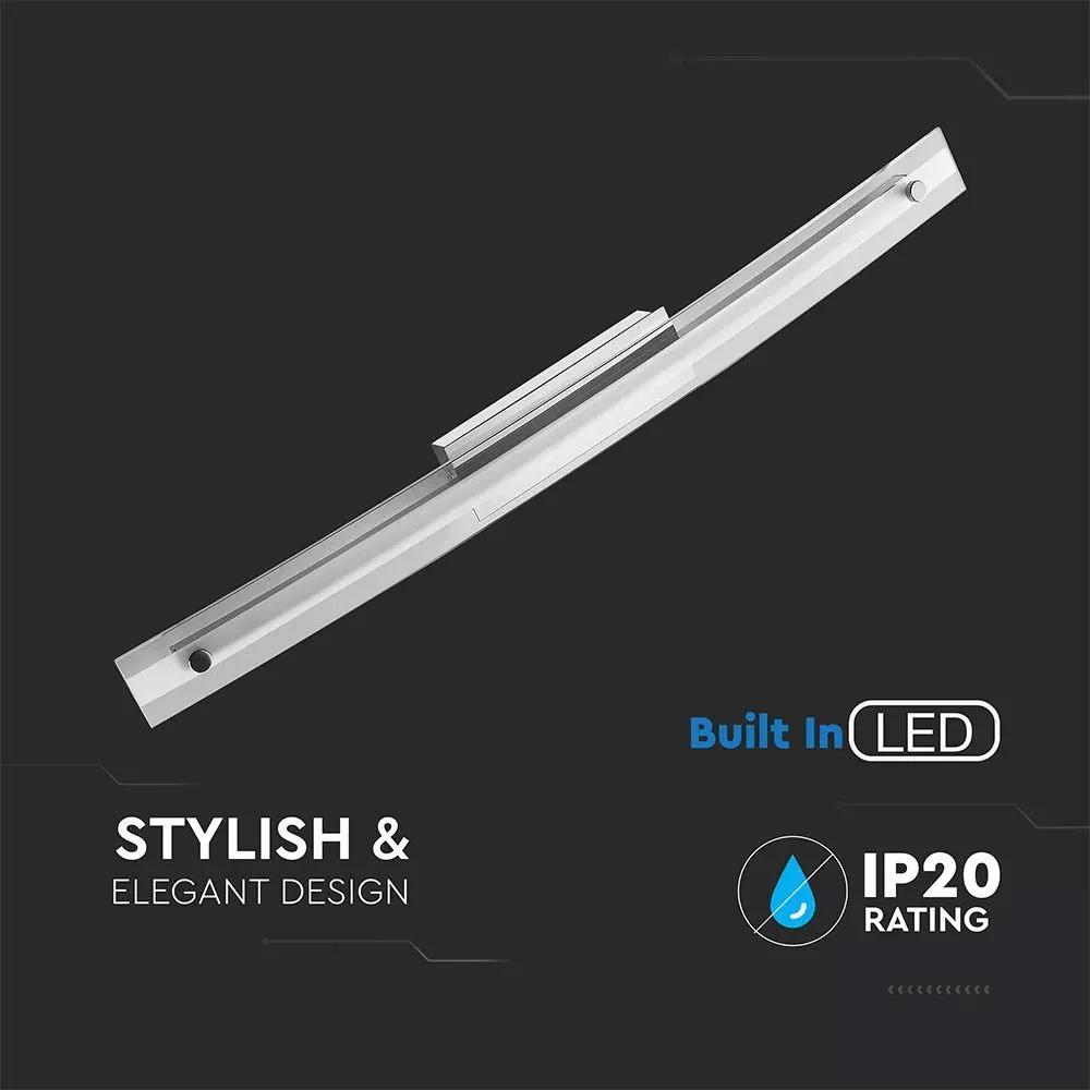 Lampa LED 18W pentru Tablou/Oglinda Cromata, Lumina Naturala