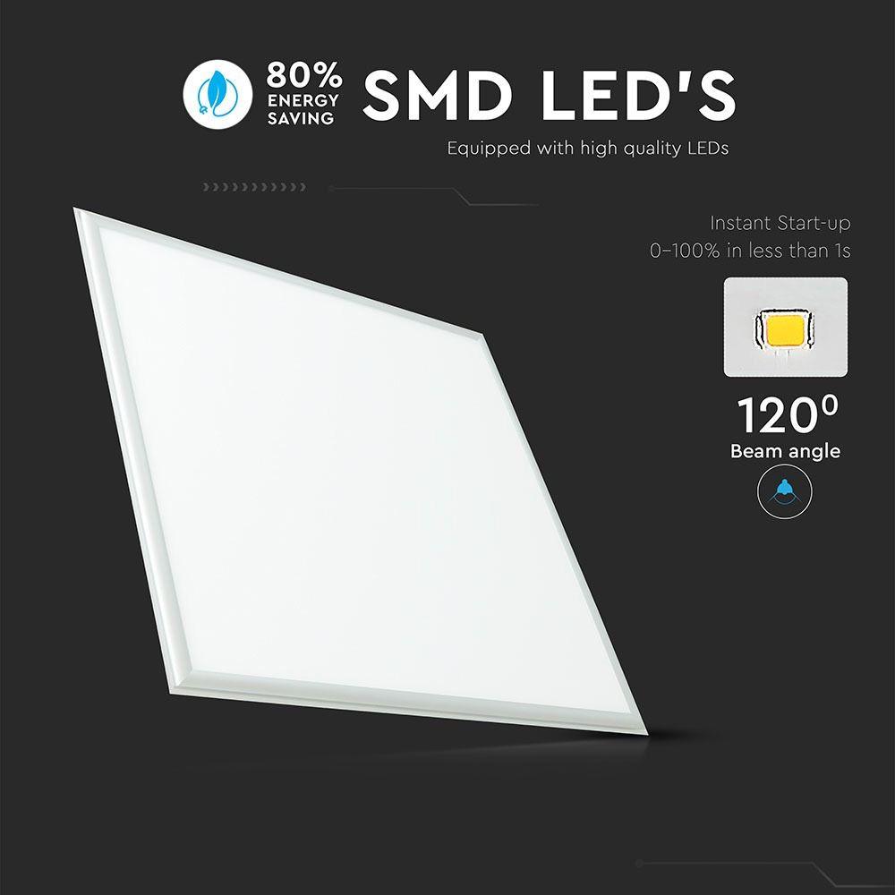Panou LED 36W, 600x600mm, Lumina Naturala 4000K